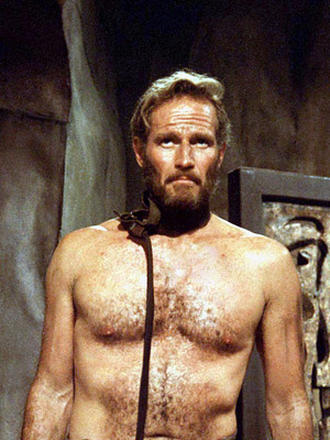 Charlton Heston nu
