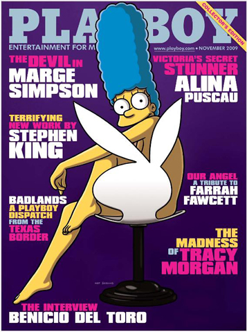 Playboy_Marge_Simpson