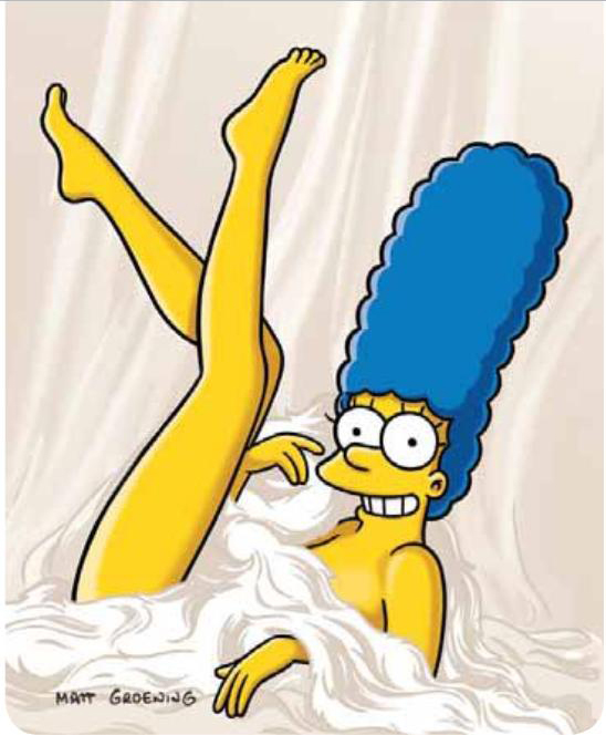 Playboy_Marge_Simpson_1