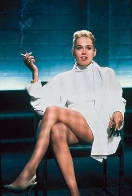 Sharon Stone nua