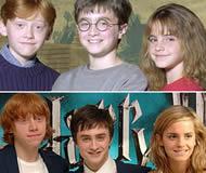 Harry Potter crescimento protagonistas