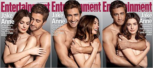 EW Jake Gyllenhaal & Anne Hathaway