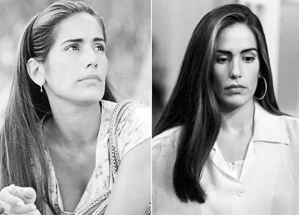 Glória Pires: como Ruth e Raquel.